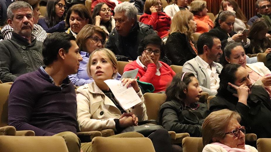 Espectadores del evento