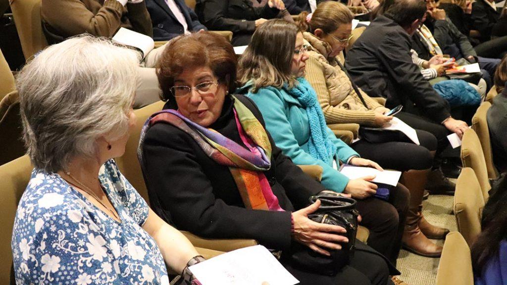 Espectadores en el evento