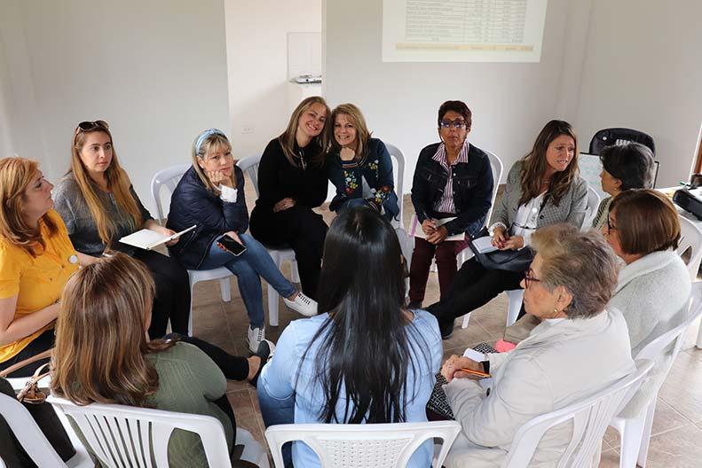 Primer encuentro voluntarias ACF 2020