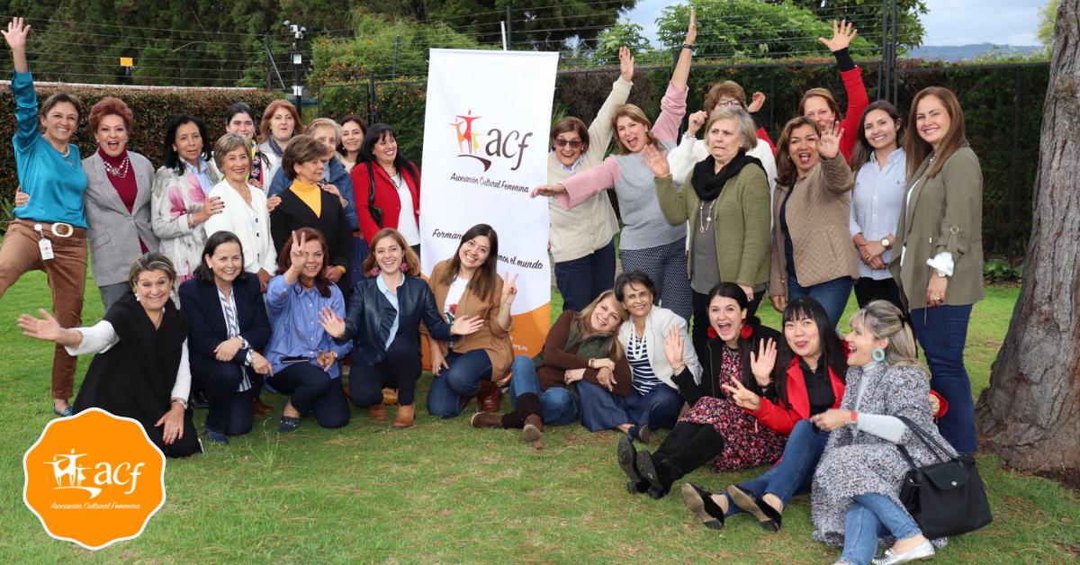Seguiremos apoyando la formación de la mujer en Colombia acfemenina