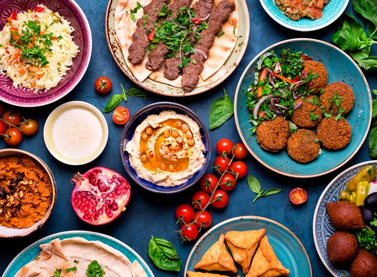 plato de cocina libanesa asociación cultural femenina 2021